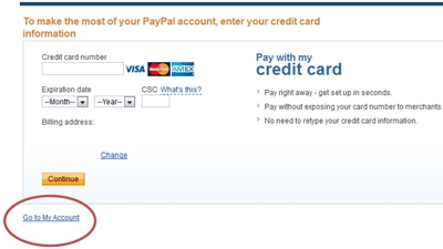 how to close my paypal credit account