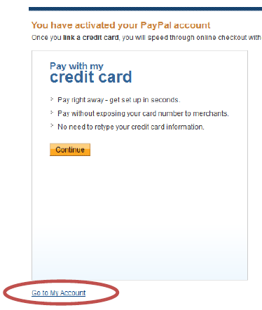 how to get paypal at my unit